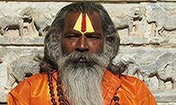 Foto de un gurú indio, cedida por Sam Segar, Stock Xchng