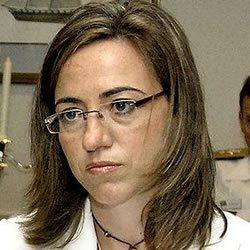 """El fallo freudiano de Carmen Chacón """"Sólo el voto socialista puede parar a los emprendedores"""""""