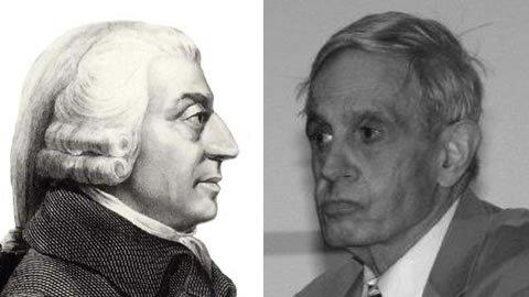 John Forbes Nash vs Adam Smith: ¿Se manipula a los economistas en su formación universitaria?