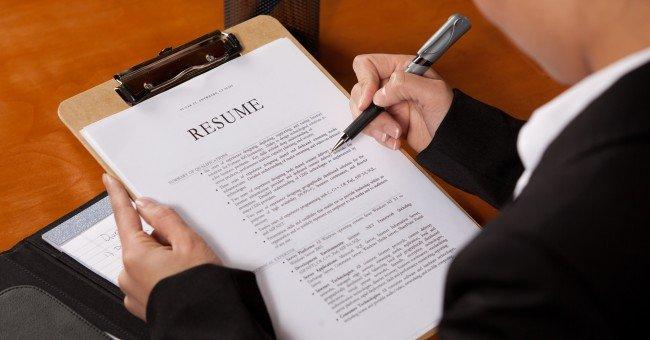 6 errores a evitar en la redacción de tu currículum vitae
