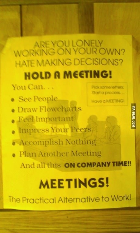 convoca una reunion