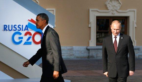 La reunión del G20 por Siria termina abruptamente cuando Obama llama a Putin tonto del culo