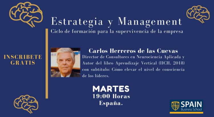 Webinar con Carlos Herreros (10 de marzo). Factores que influyen en la creatividad y en la innovación